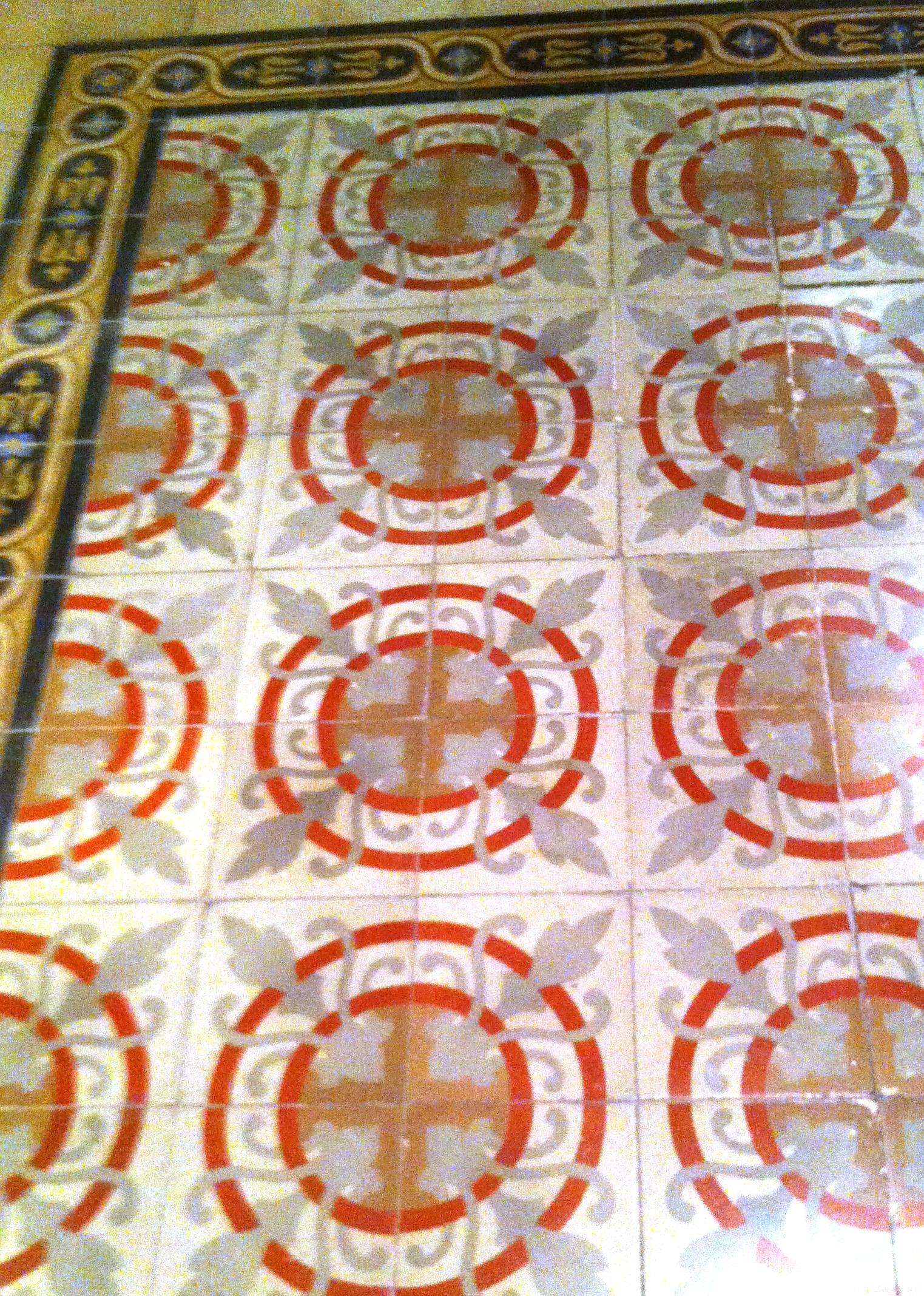 Spanish tile floors